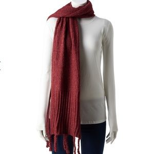 Berry Color Scarf